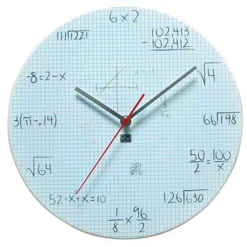 Portada para libreta de matematicas imagui - Relojes originales de pared ...