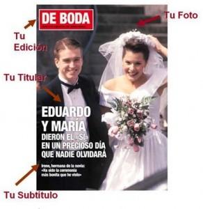 Regalo Original Portada de Revista