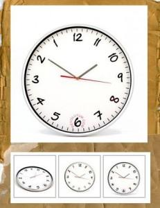 Regalo original reloj inverso