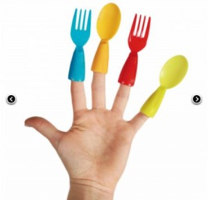 Regalo Original Tenedor de dedos
