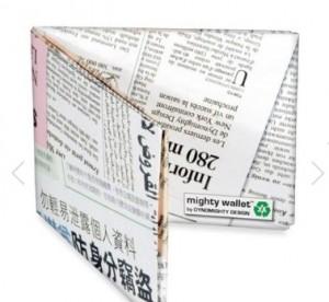 cartera-de-papel-de-diario